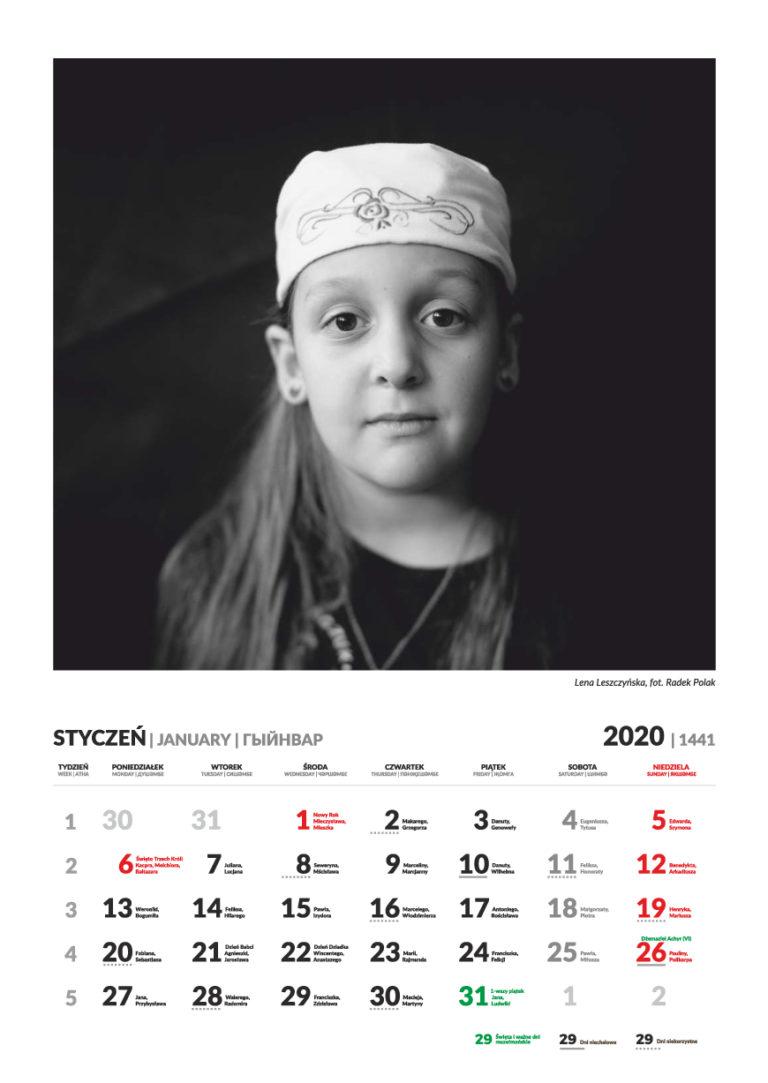 Kalendarz Tatarski - styczeń 2020