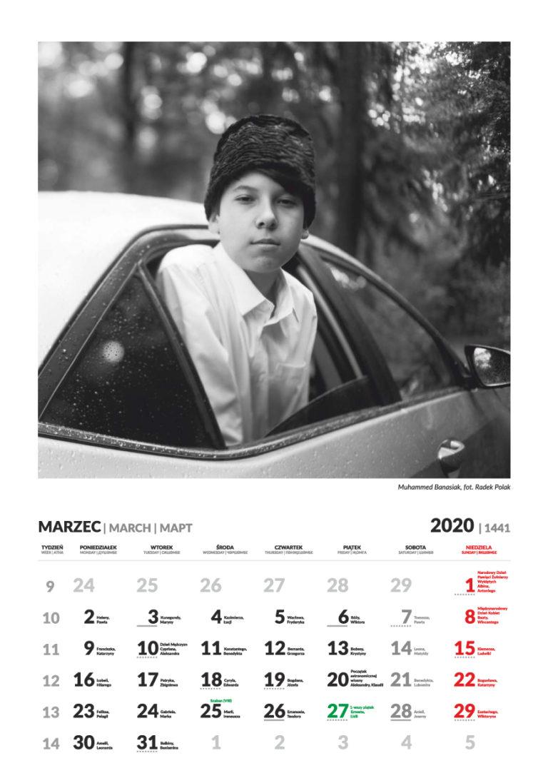 Kalendarz Tatarski - marzec 2020