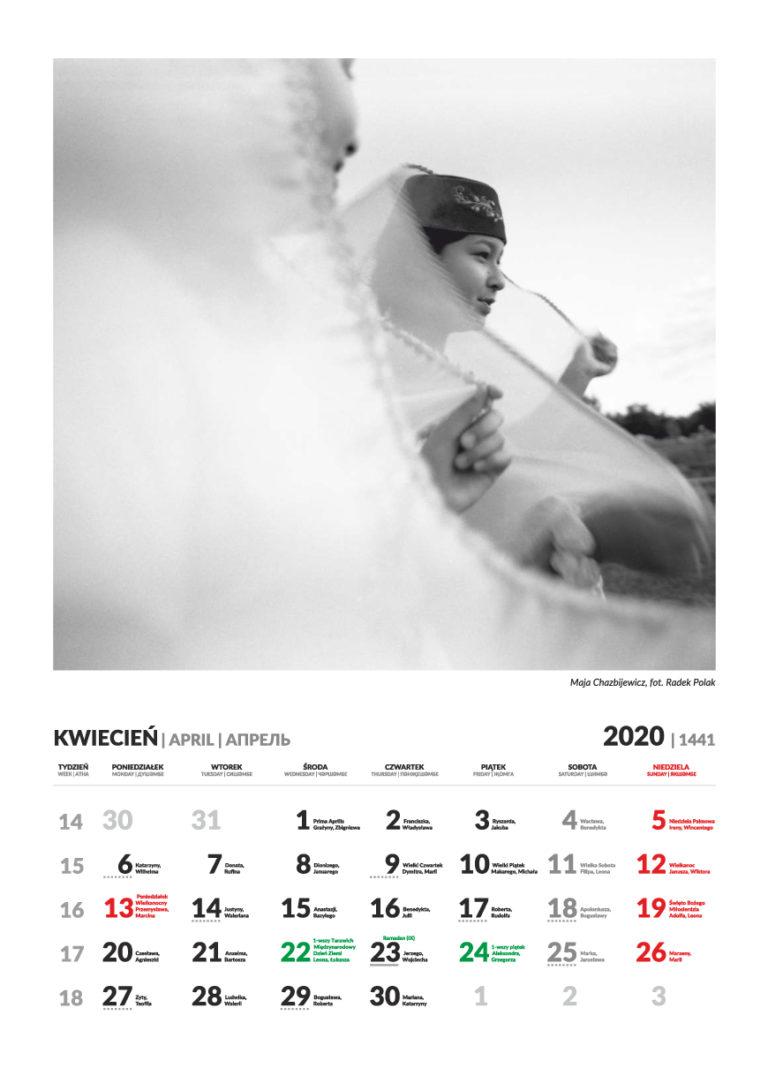Kalendarz Tatarski -kwiecień 2020