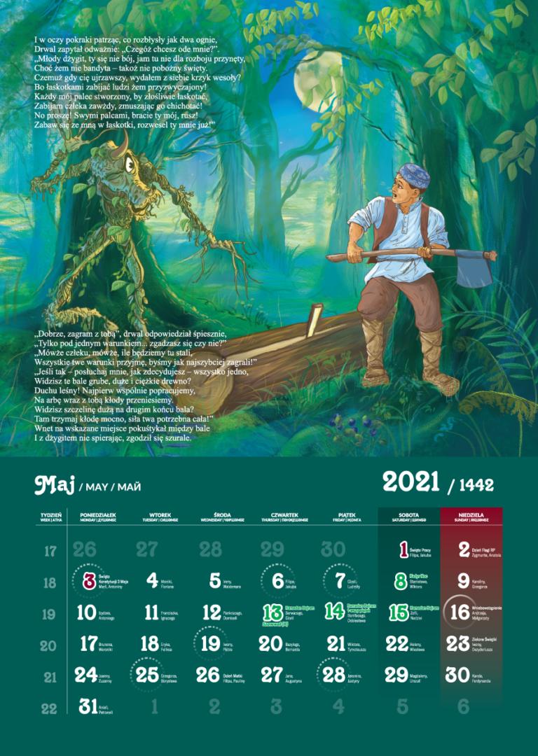 Kalendarz Tatarski 2021 - Majj