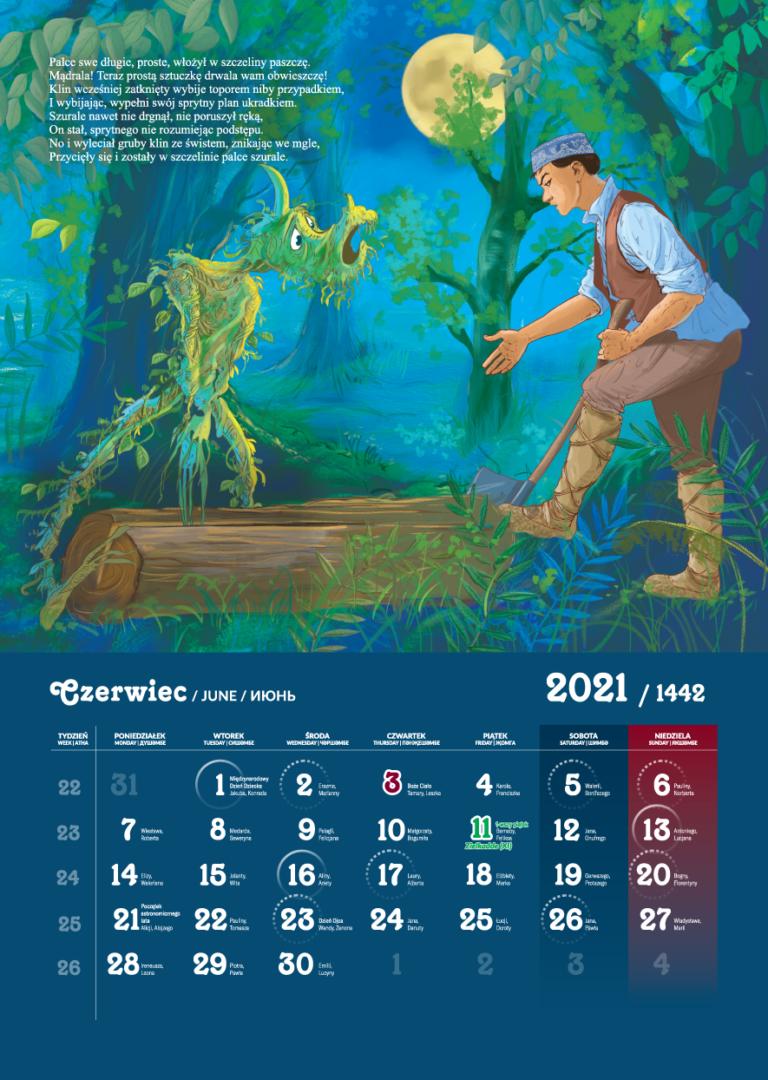 Kalendarz Tatarski 2021 - Czerwiec
